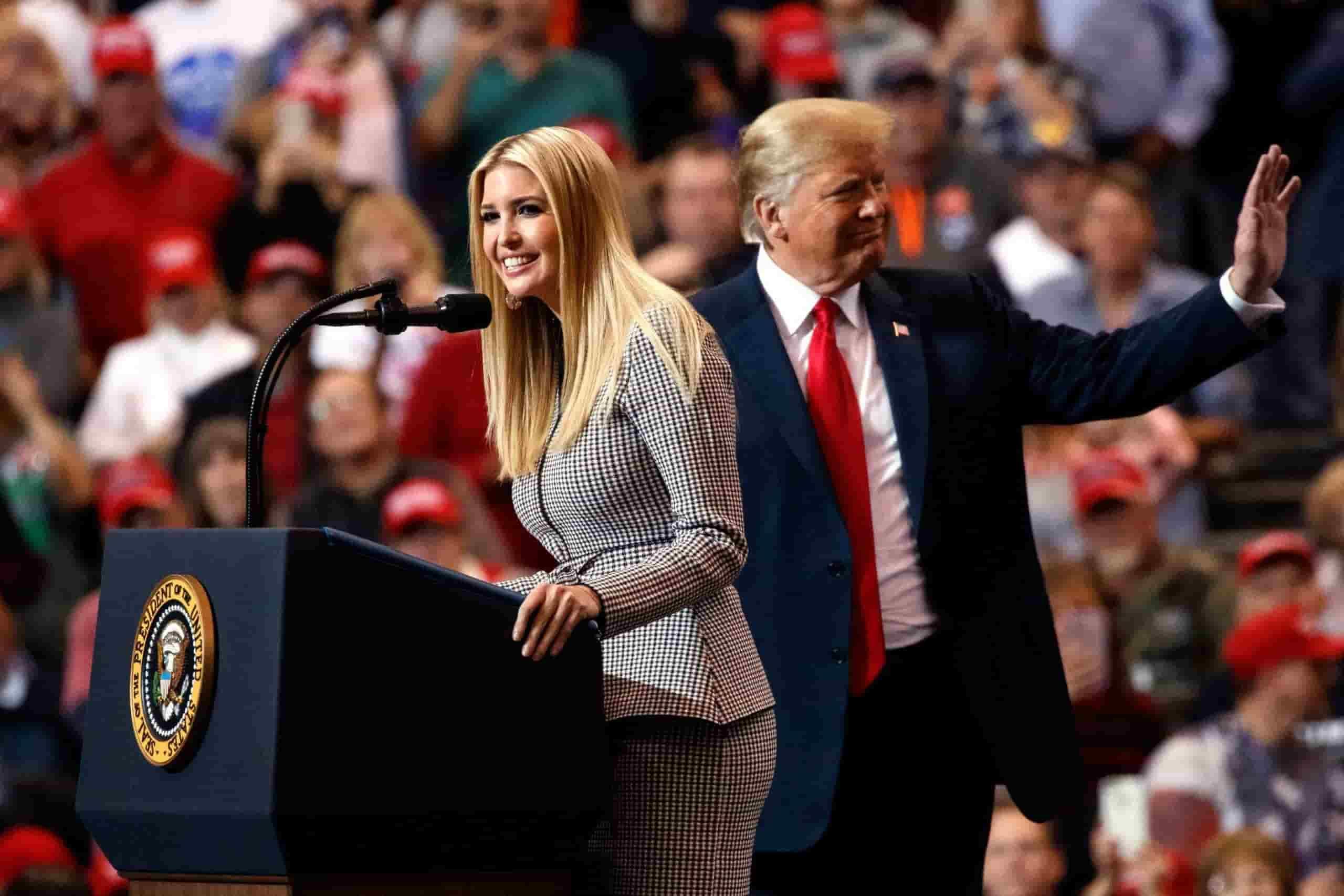 Ivanka Trump and Nikki Haley