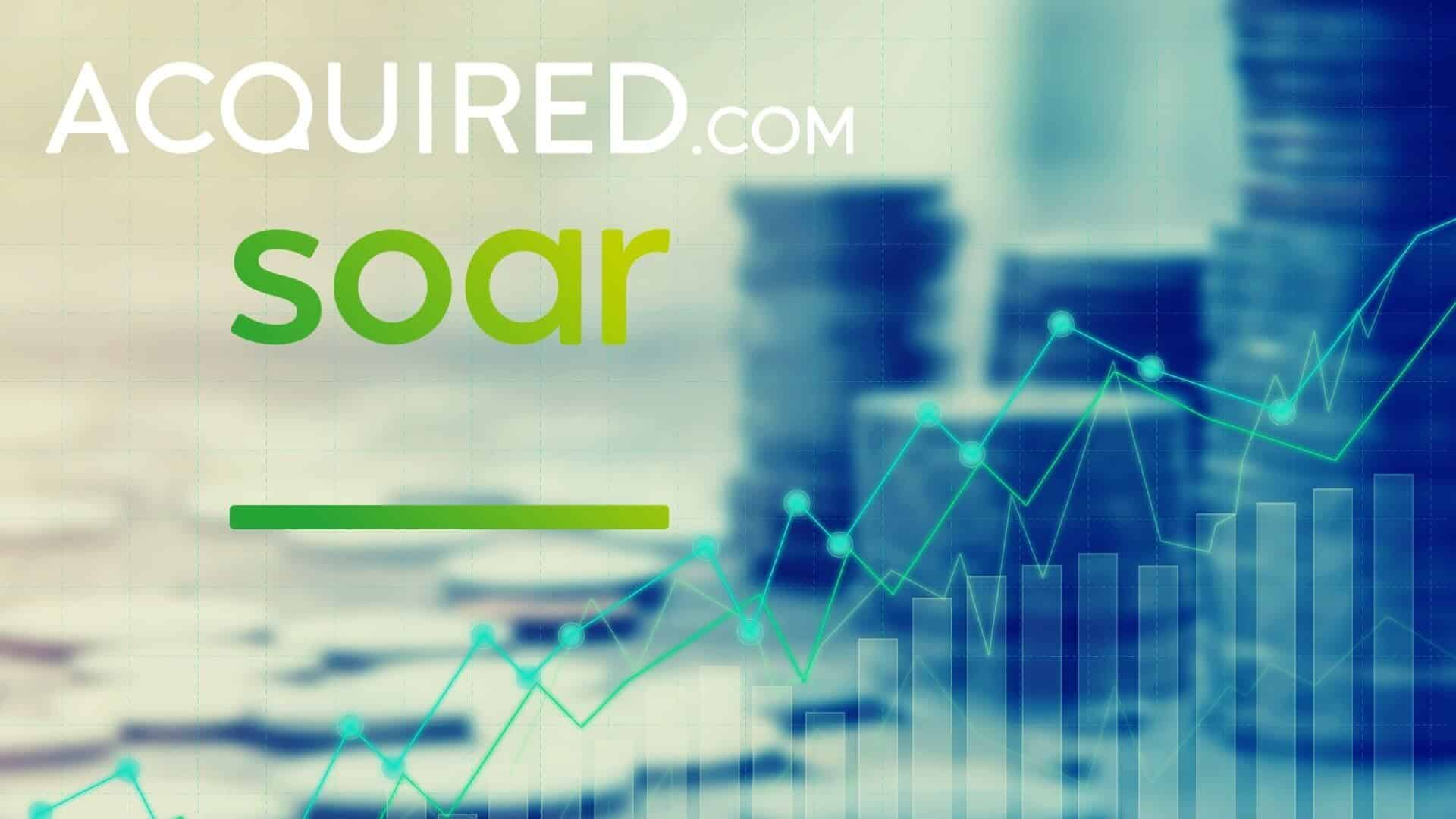 Soar and Acquired.com Team Up to Create a Transparent Service Platform