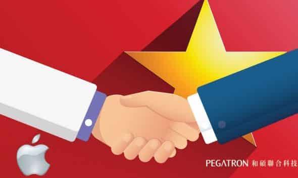 Apple's Partner Pegatron Plans to Establish Production Base in Vietnam