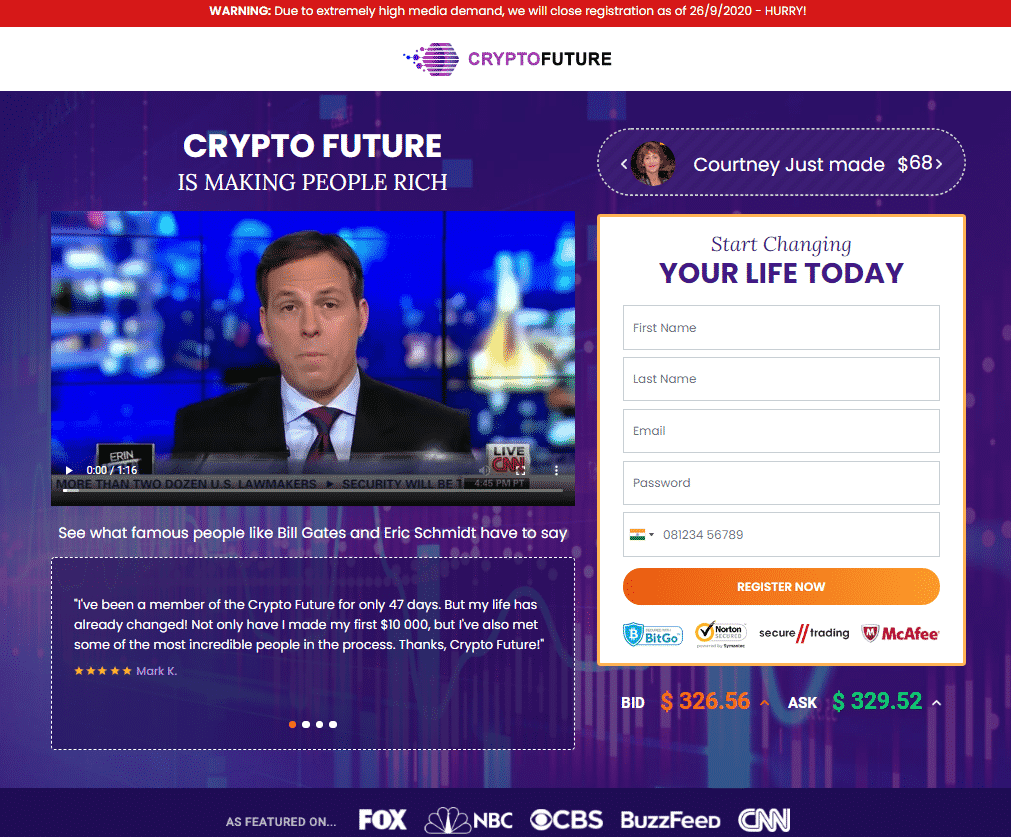 Crypto Future Review - Overview