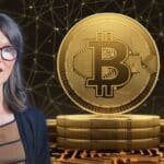 Cathie Wood Cuts Down Coinbase's Stake as Bitcoin Holds $56k High